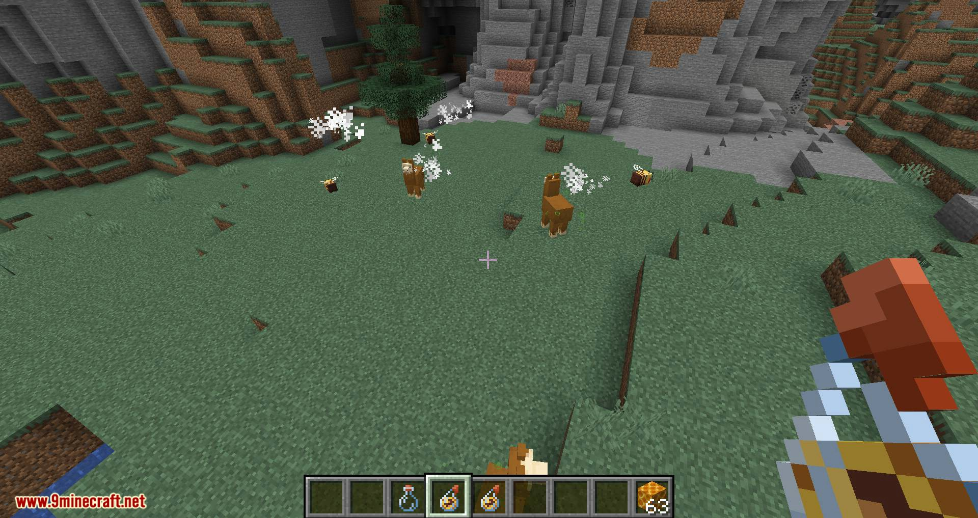 Potion of Bees mod for minecraft 13