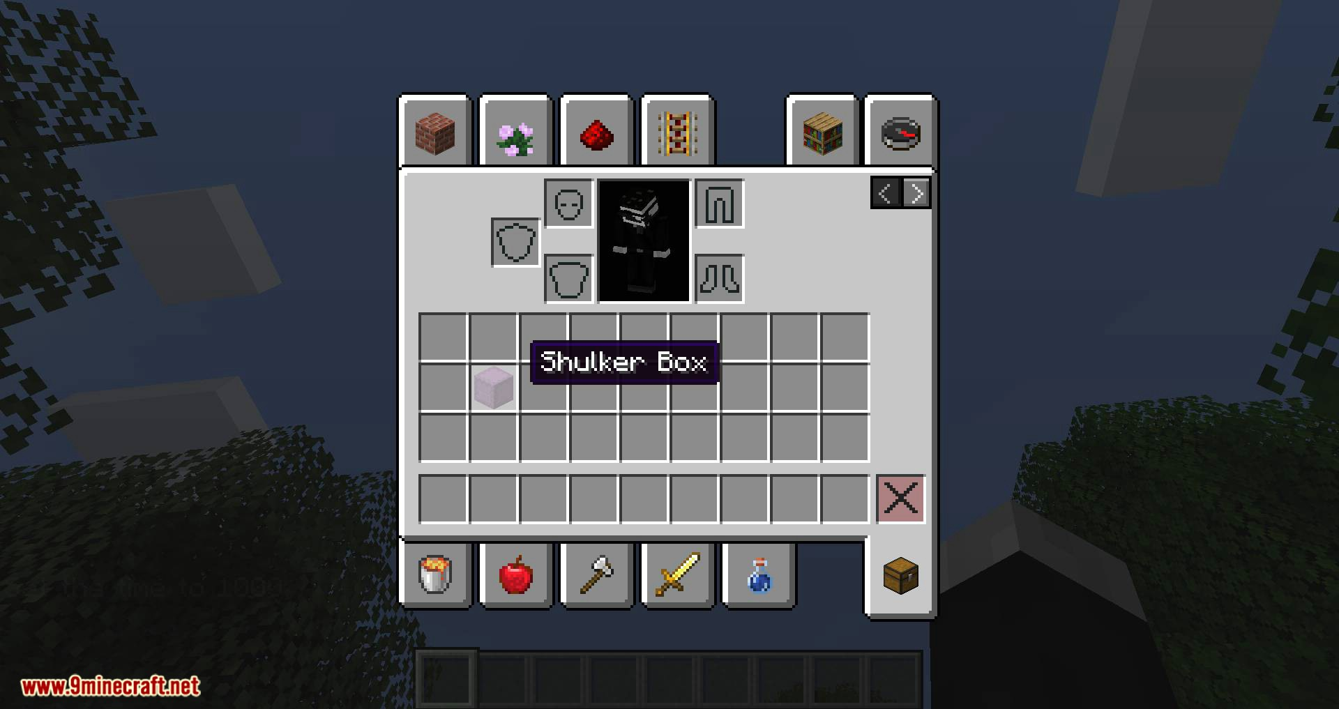 Quick Shulker mod for minecraft 04