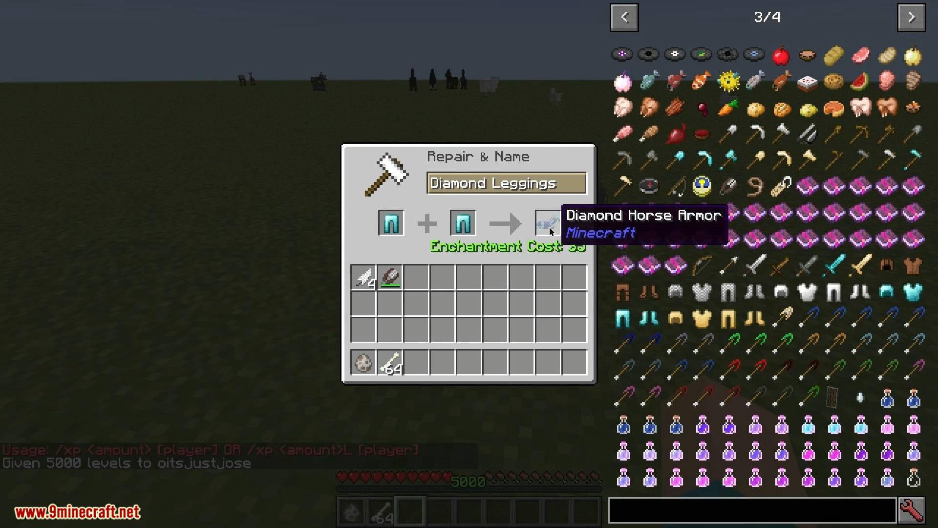 V-Tweaks mod for minecraft 04