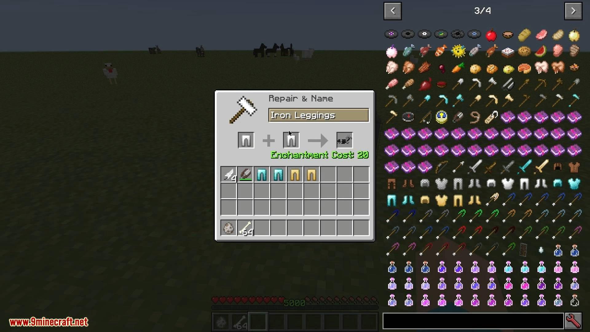 V-Tweaks mod for minecraft 05