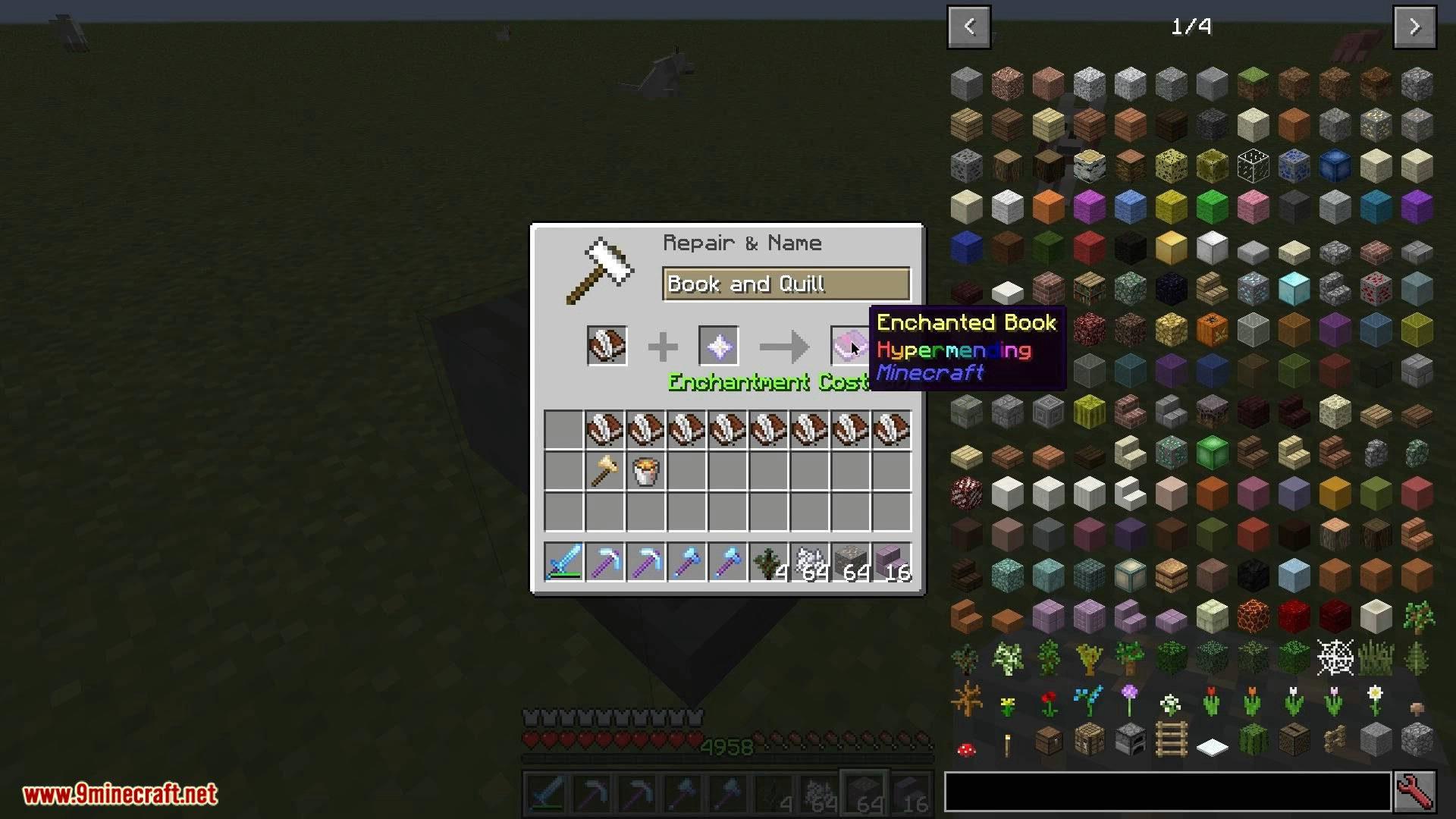 V-Tweaks mod for minecraft 11