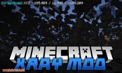 Xray Mod for minecraft logo
