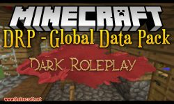 drp global data pack mod for minecraft logo