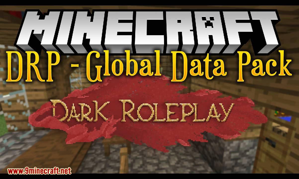 drp global data pack mod for minecraft logo