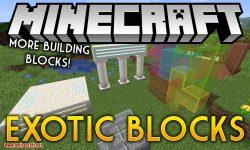exotic blocks mod for minecraft logo