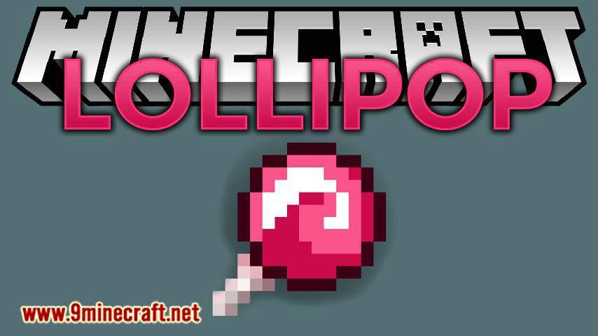 lollipop mod for minecraft logo