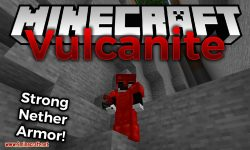 vulcanite mod for minecraft logo