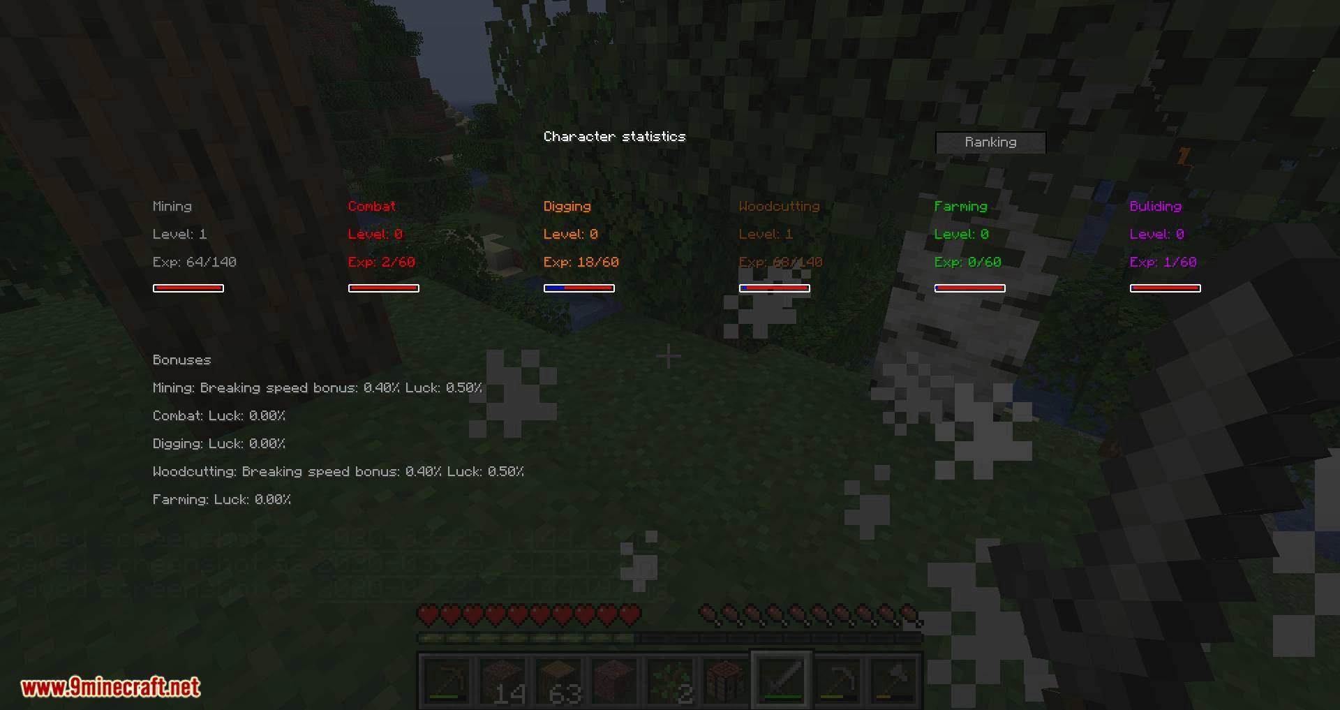 zmodskills mod for minecraft 07