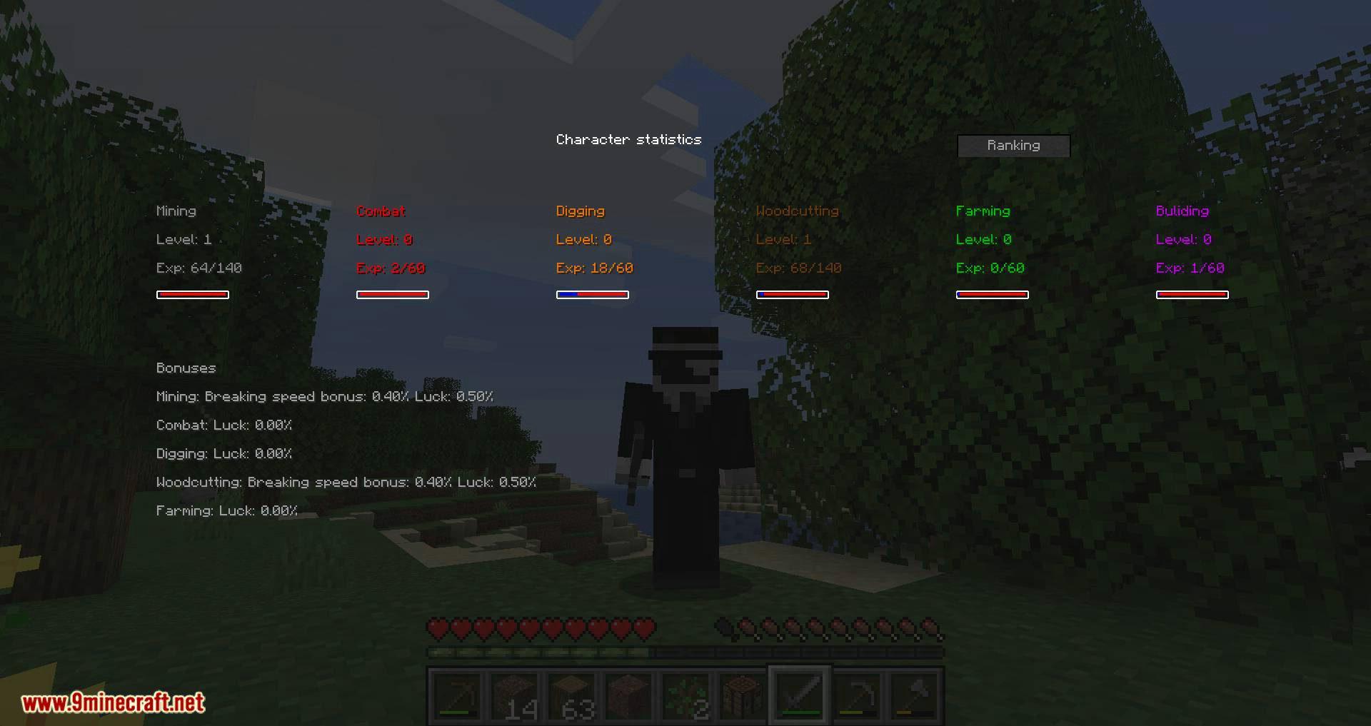 zmodskills mod for minecraft 08