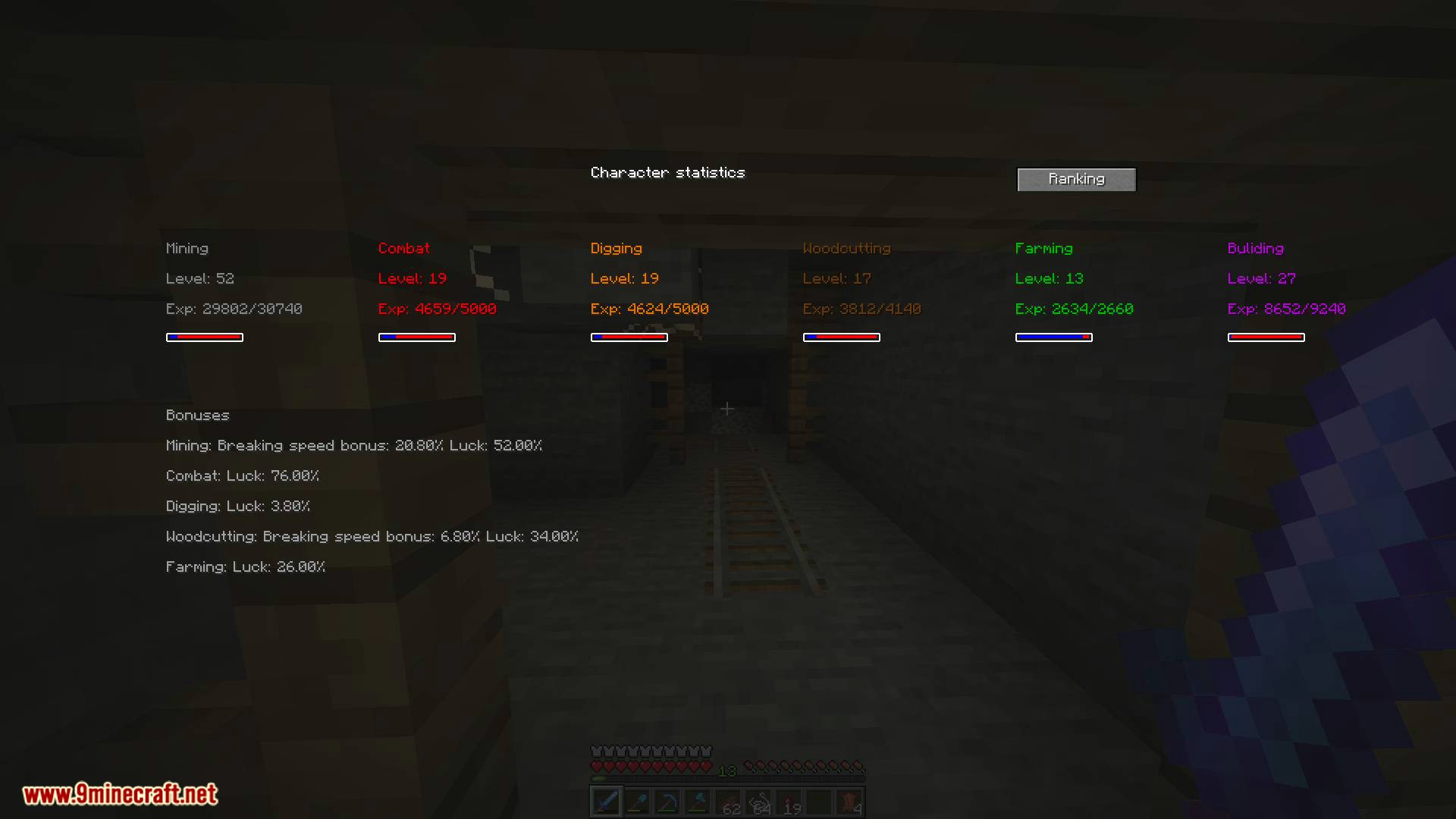 zmodskills mod for minecraft 10