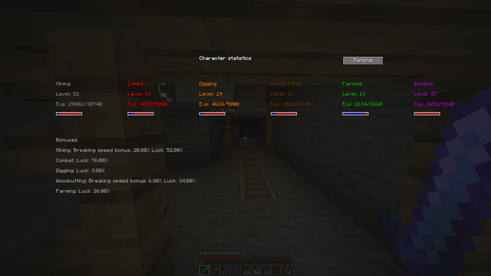 zmodskills mod for minecraft 21
