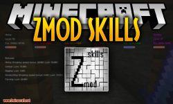 zmodskills mod for minecraft logo