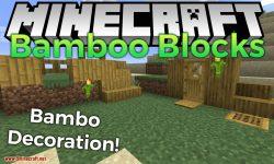 Bamboo Blocks mod for minecraft logo