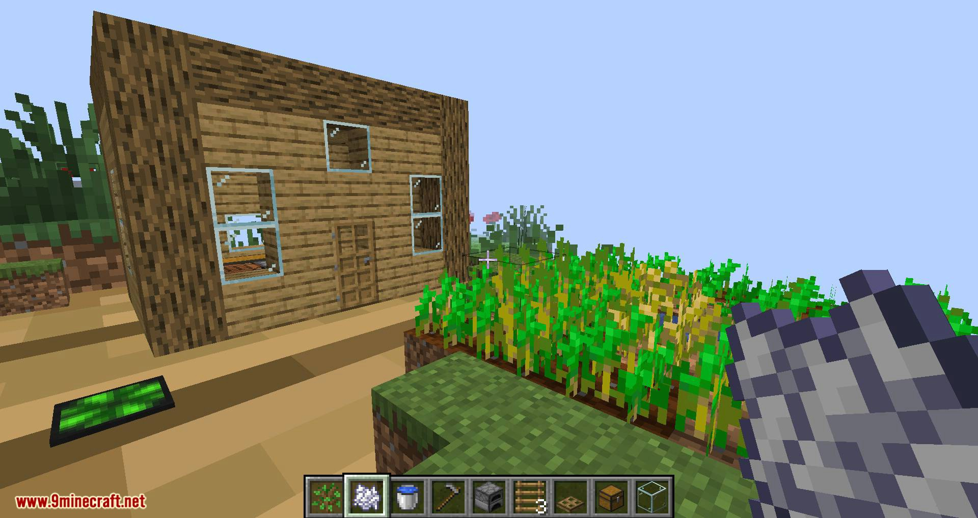 Chunk in a Globe mod for minecraft 11