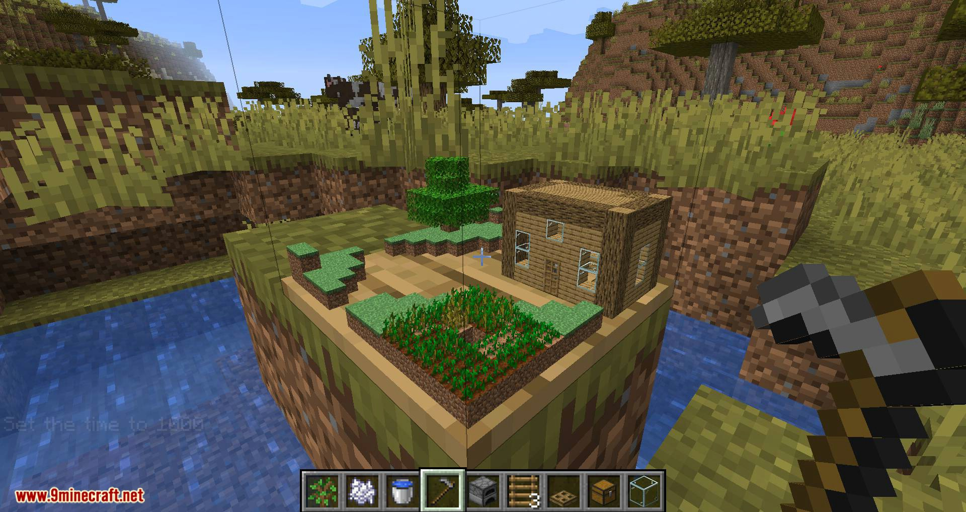Chunk in a Globe mod for minecraft 12