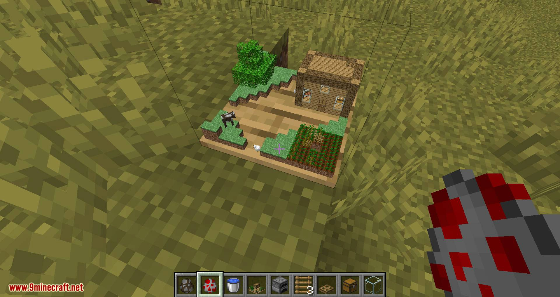 Chunk in a Globe mod for minecraft 14