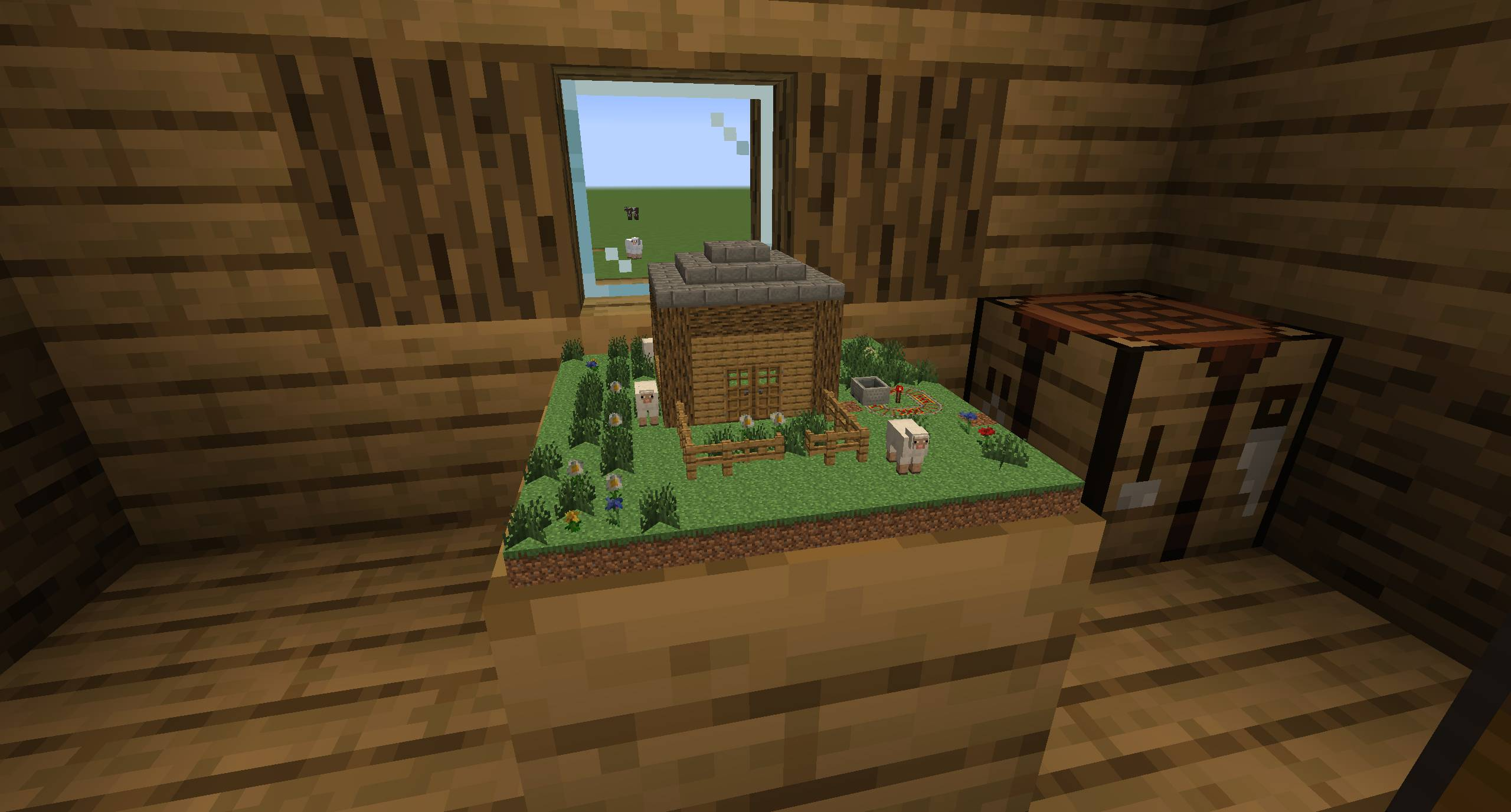 Chunk in a Globe mod for minecraft 22