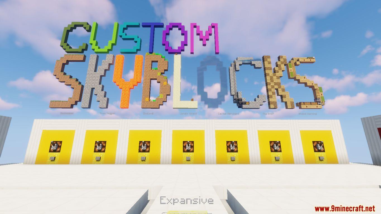 Custom Skyblocks Map Screenshots (2)