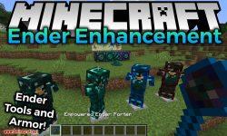 Ender Enhancement mod for minecraft logo
