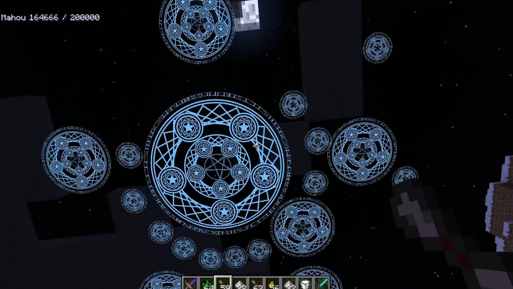 Mahou Tsukai mod for minecraft 22
