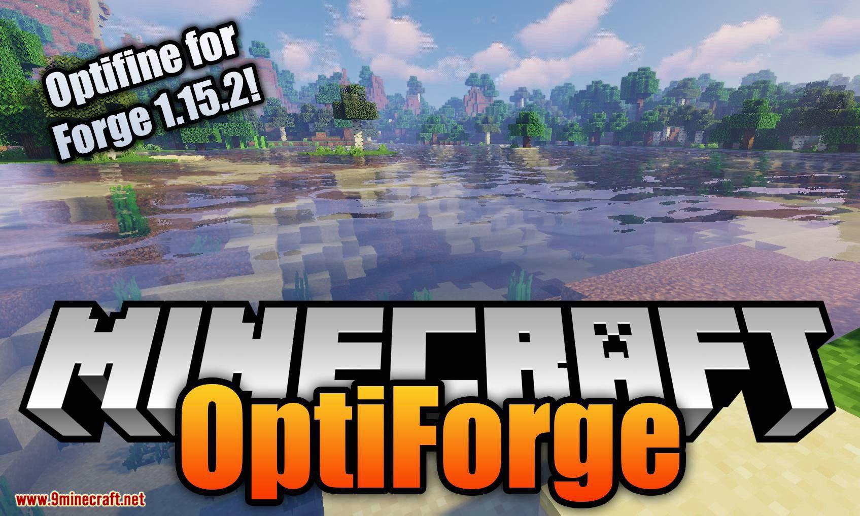 OptiForge mod for minecraft logo