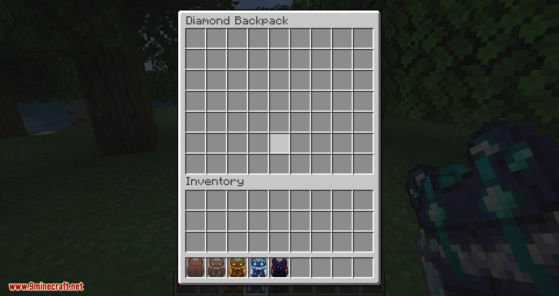 Packed Up Backpacks mod for minecraft 06