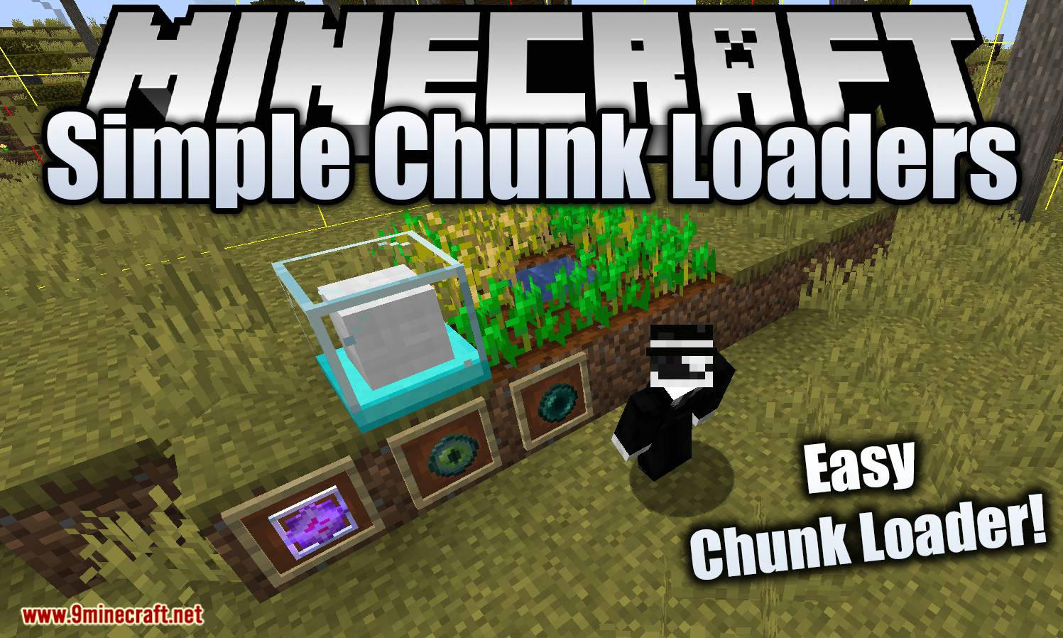 Simple Chunk Loaders mod for minecraft logo