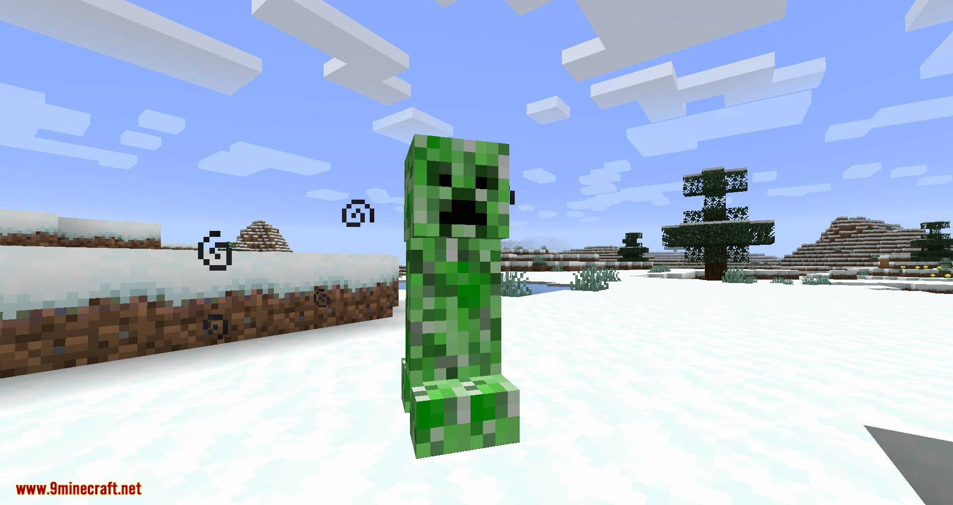 Snowballs Freeze Mobs mod for minecraft 09