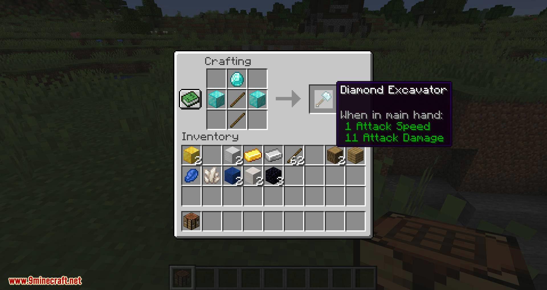 Vanilla Excavators mod for minecraft 01