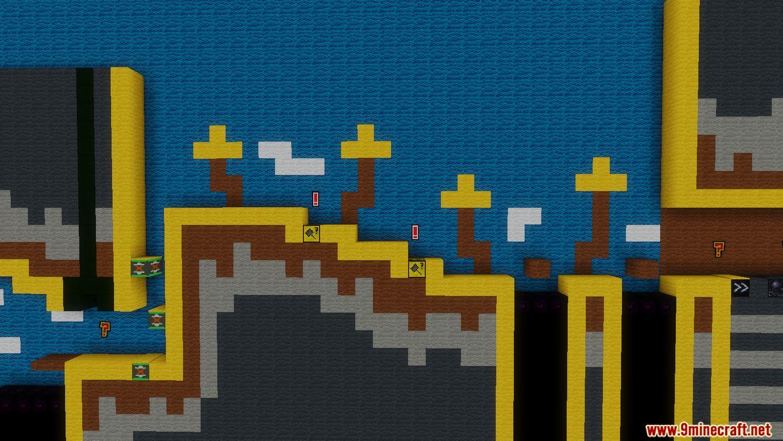 Yoshi's Wooly World 2 Map Screenshots (8)