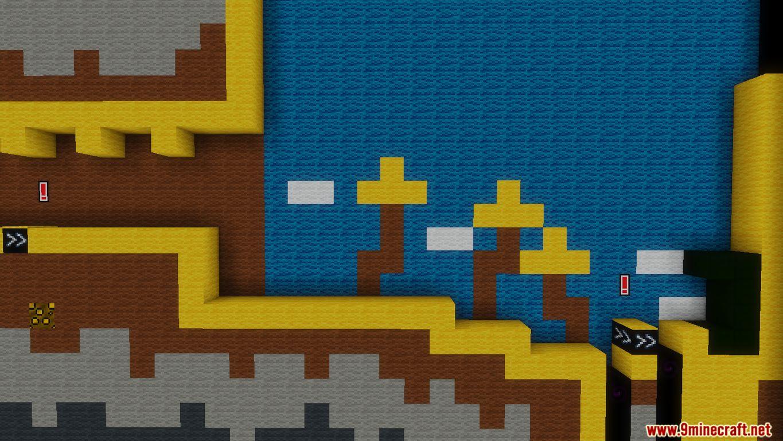Yoshi's Wooly World 2 Map Screenshots (9)
