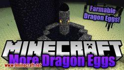 more dragon eggs mod for minecraft logo