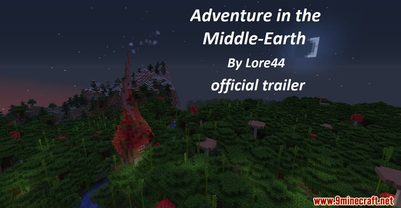 Adventure in the Middle-Earth Map Thumbnail