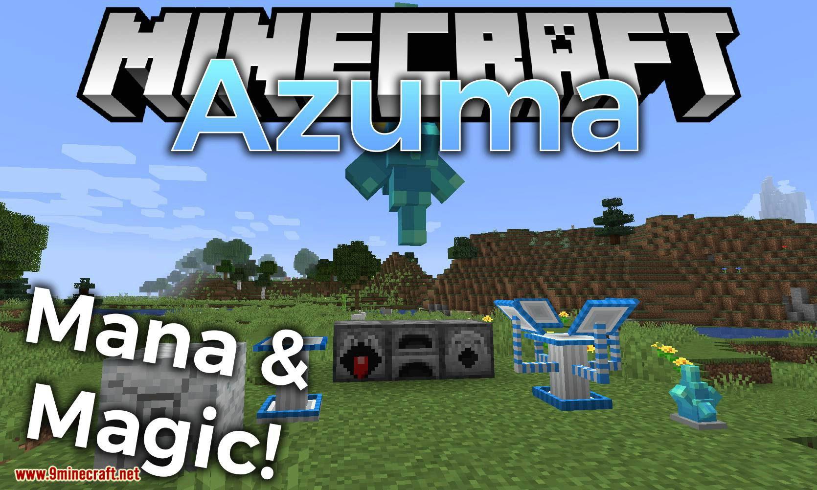Azuma Mod 1.15.2 (Mana & Magic)