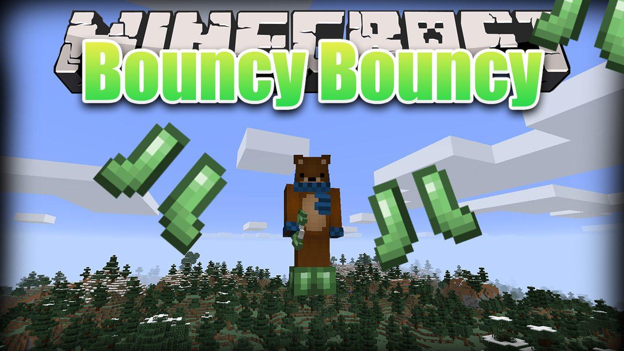 Bouncy Bouncy Mod 1 15 2 Slime Boots Slime Sling 9minecraft Net