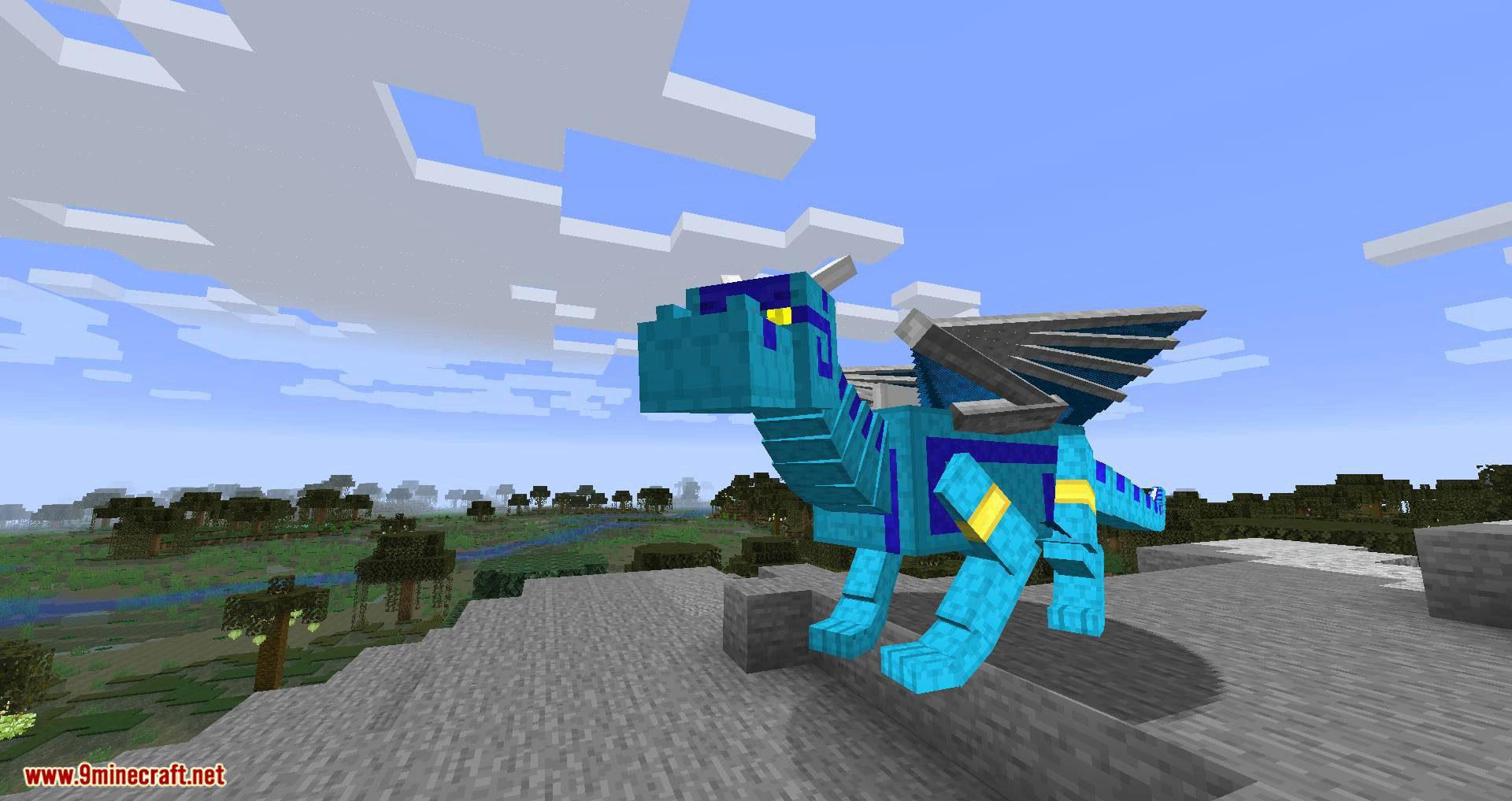 Dragon Mounts Legacy mod for minecraft 04