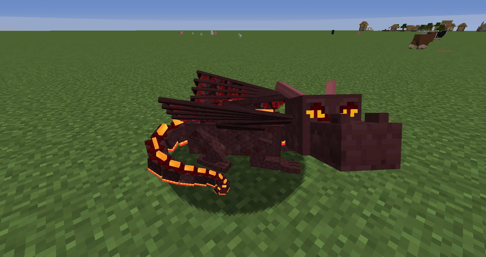 Dragon Mounts Legacy mod for minecraft 21