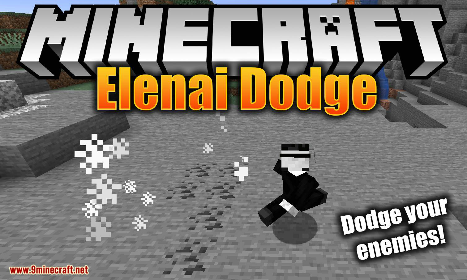 Elenai Dodge mod for minecraft logo