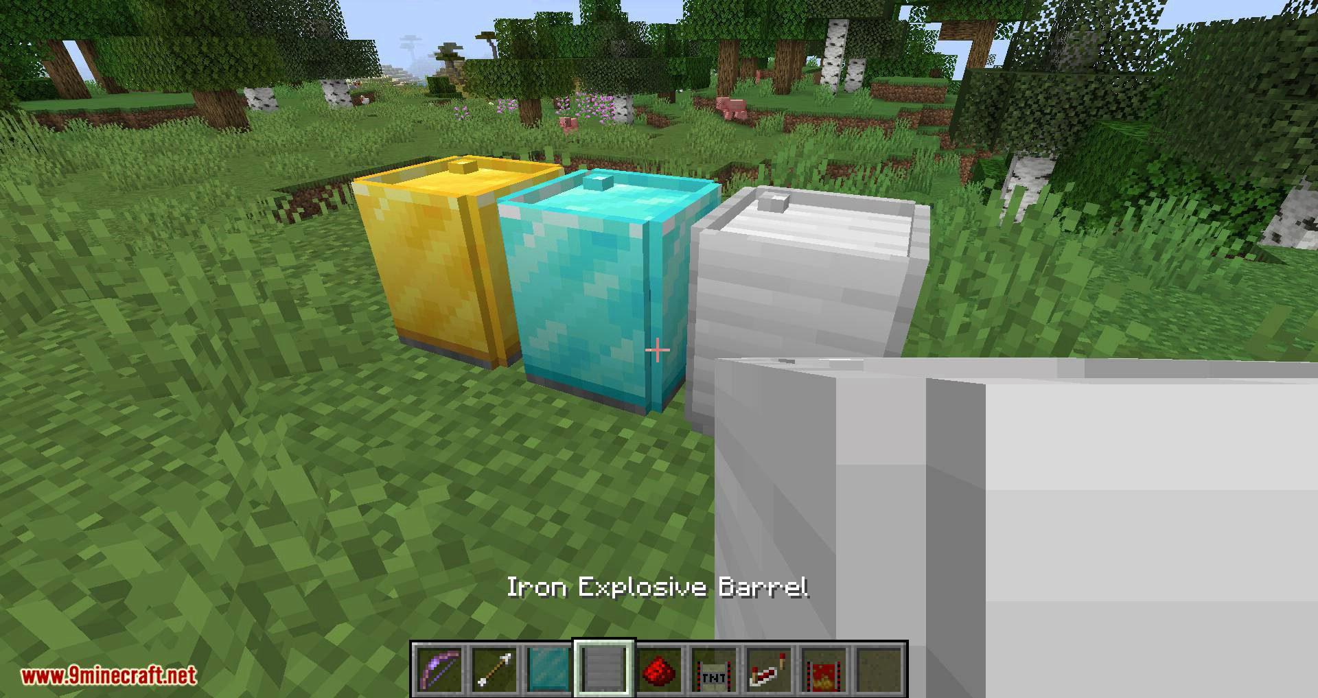 Iron TNT mod for minecraft 14