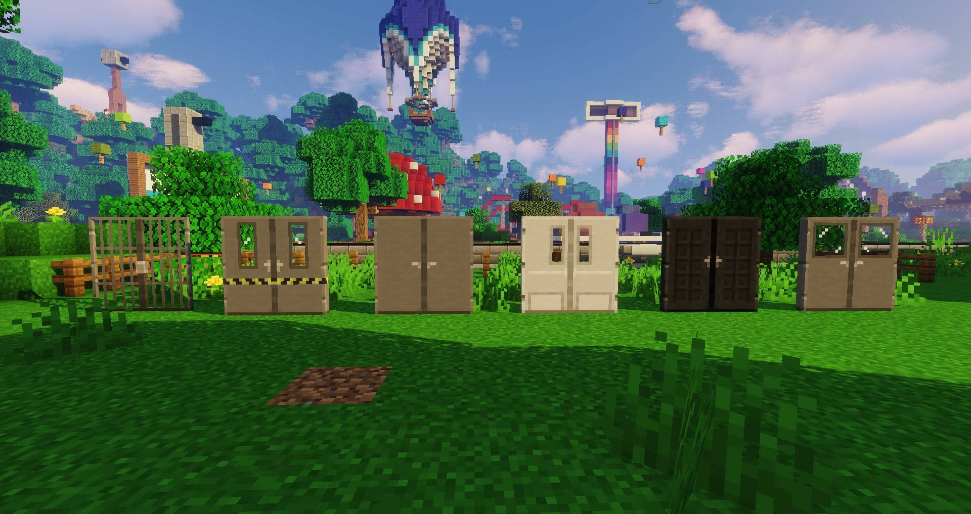 Macaw_s Doors mod for minecraft 22