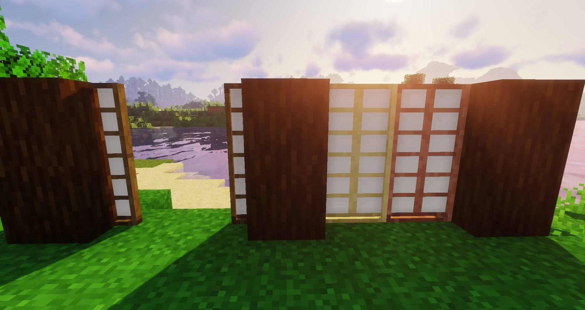 Macaw_s Doors mod for minecraft 23