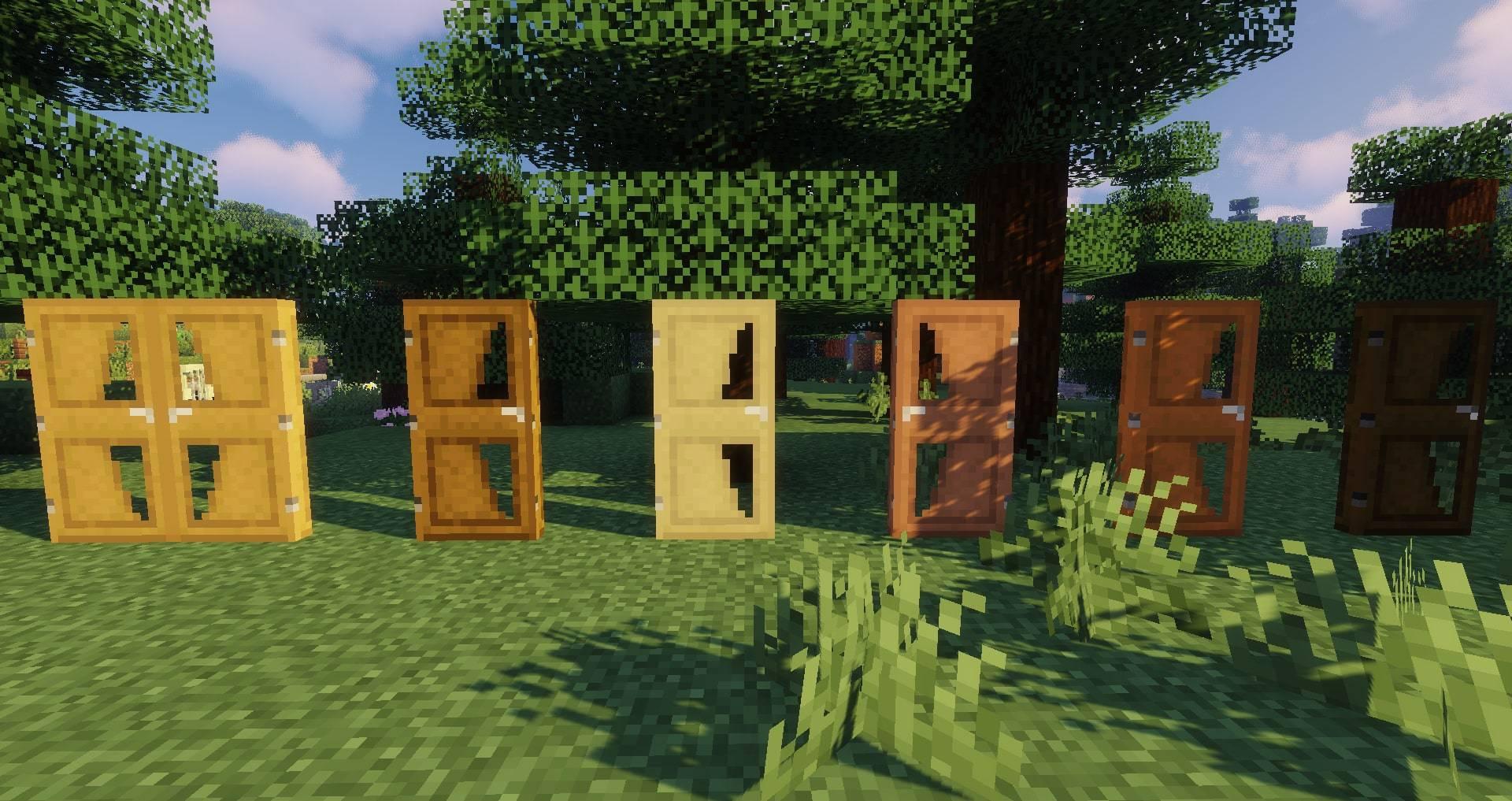 Macaw_s Doors mod for minecraft 24