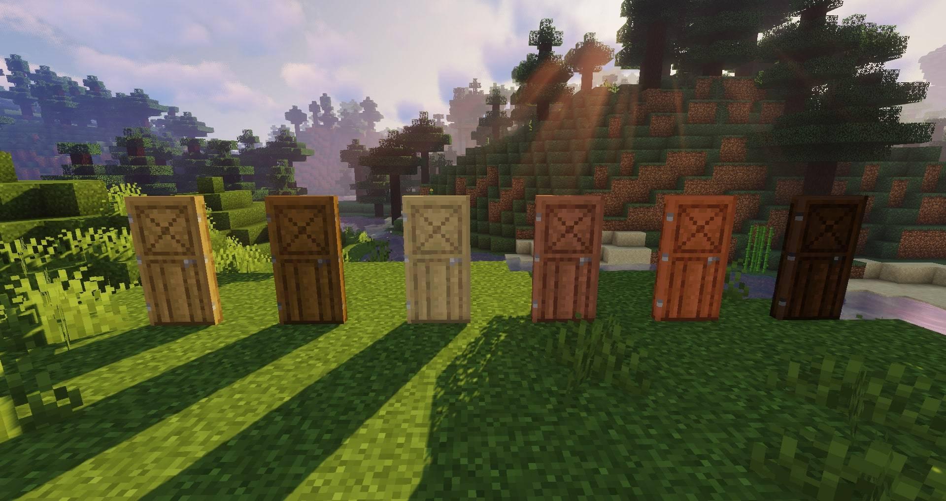 Macaw_s Doors mod for minecraft 25