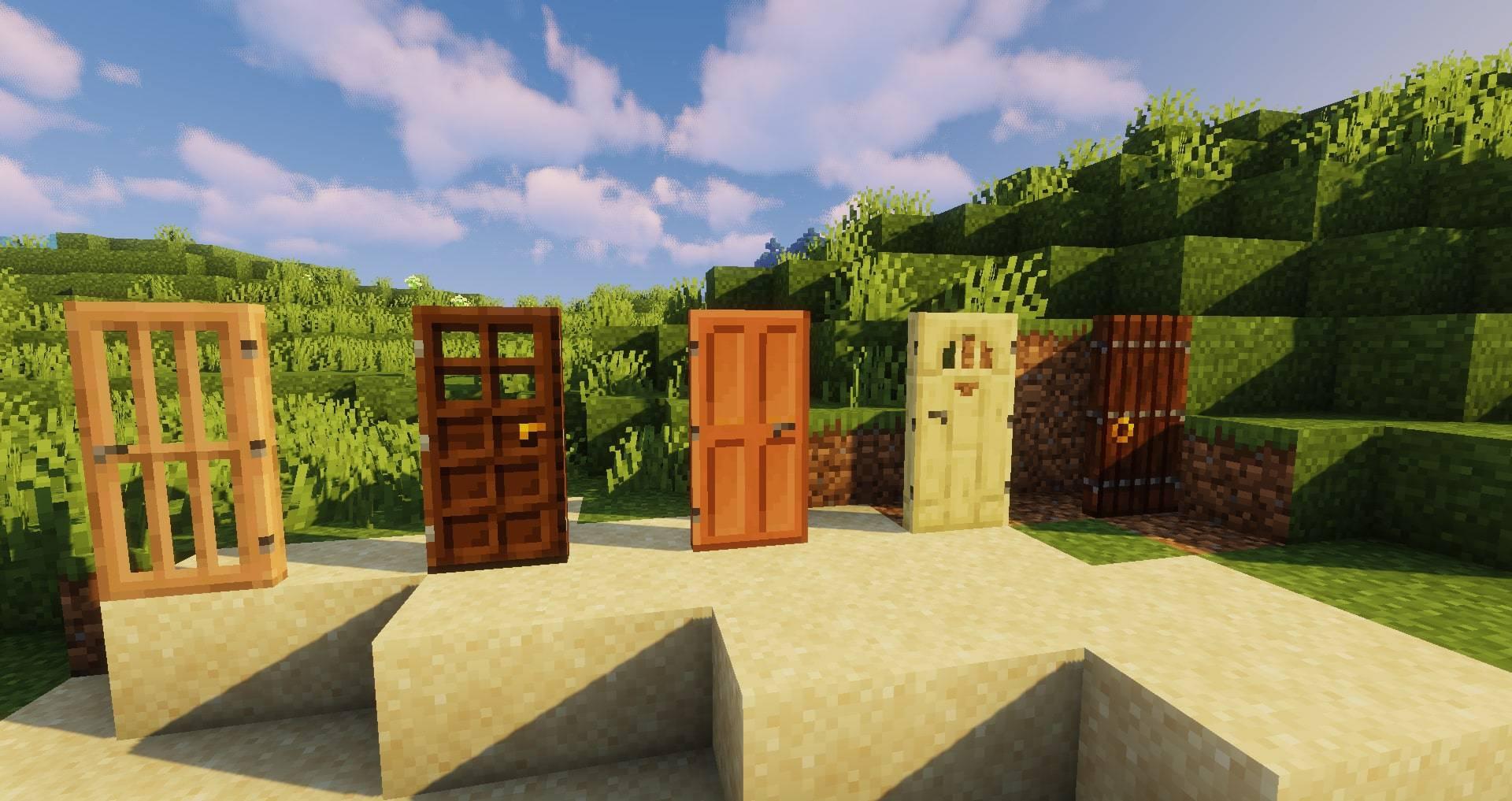 Macaw_s Doors mod for minecraft 27