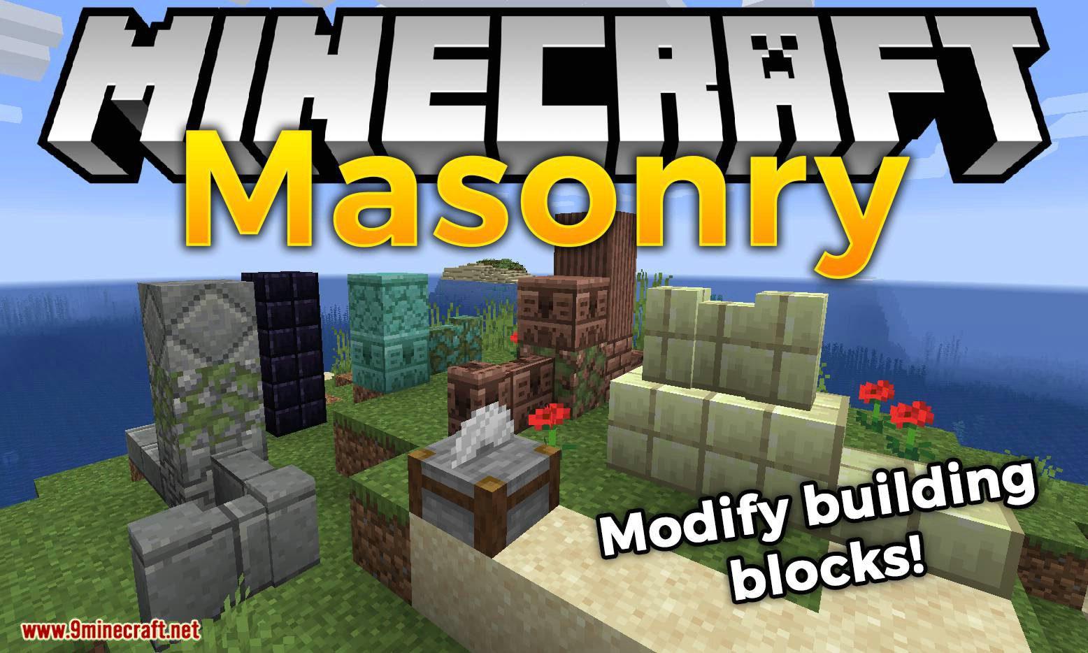 Masonry mod for minecraft logo
