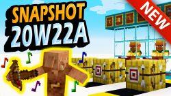 Minecraft 1.16 Snapshot 20w22a