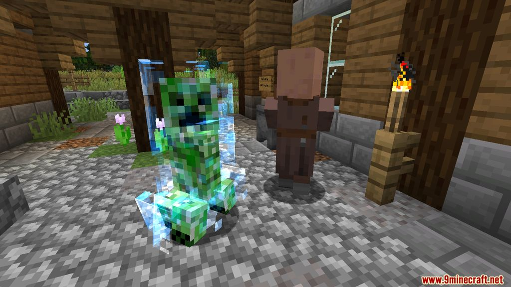 Naturally Charged Creepers Mod Screenshots 7