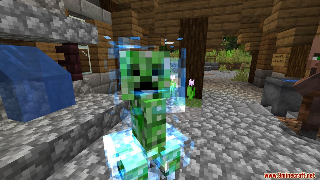 Naturally Charged Creepers Mod Screenshots 8