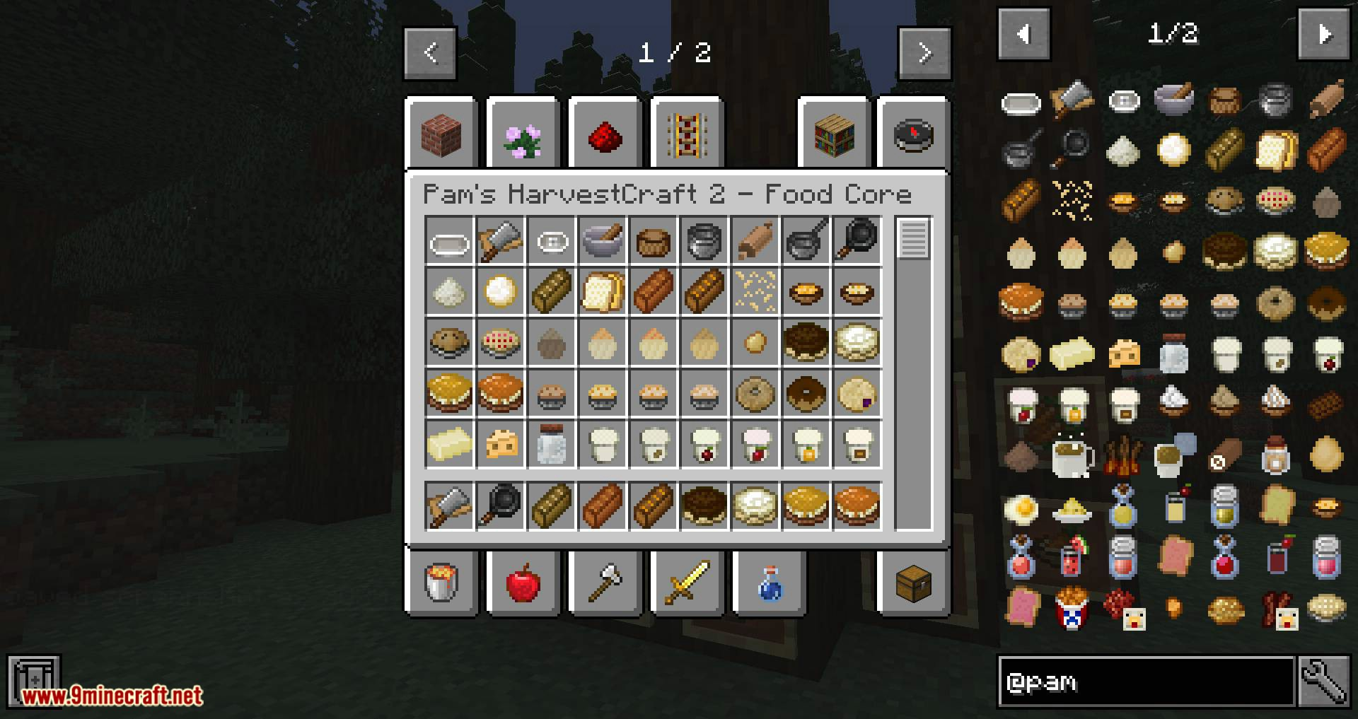 Pam_s HarvestCraft 2 Food Core mod for minecraft 11