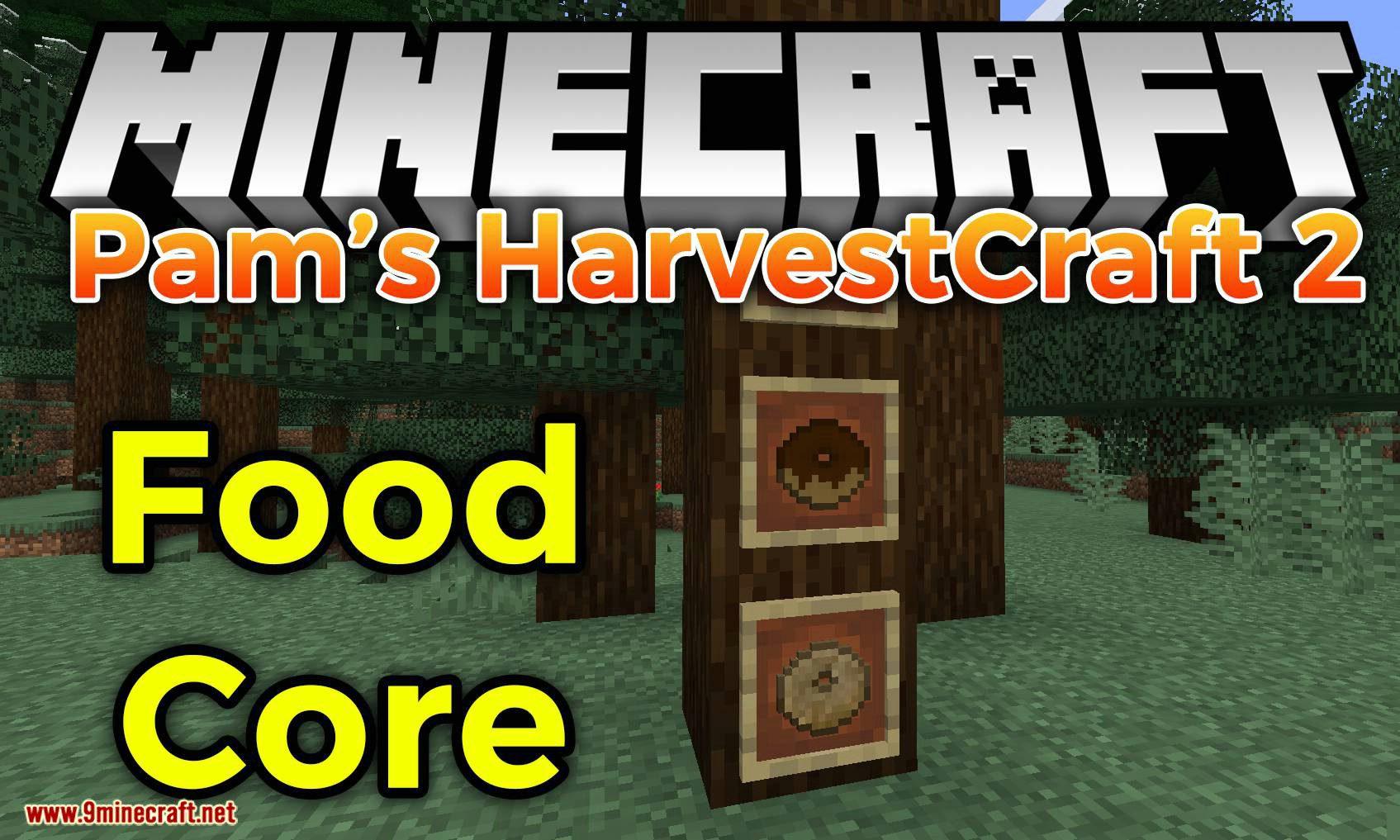 Pam_s HarvestCraft 2 Food Core mod for minecraft logo